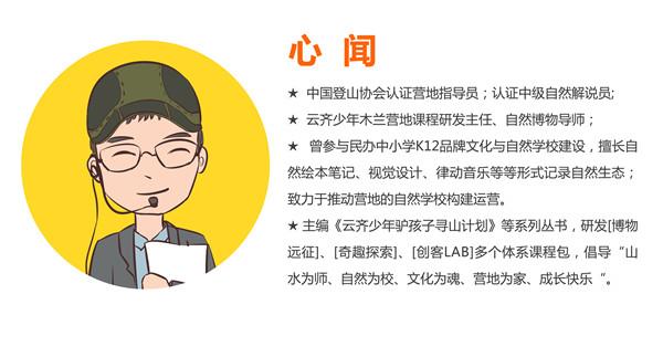 师资模板 —— 心闻师资介绍